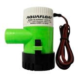 Bomba De Achique Eléctrica 1100 Gph 12v Aquafloat - Nautica