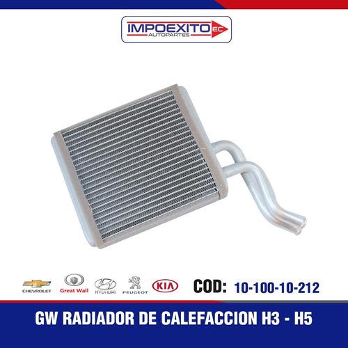 Gw Radiador De Calefaccion  H3 - H5  Alt Foto 1