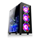 Cpu Pc Gamer X Intel I5  8gb  Ssd 240gb Geforce Gt610 2gb