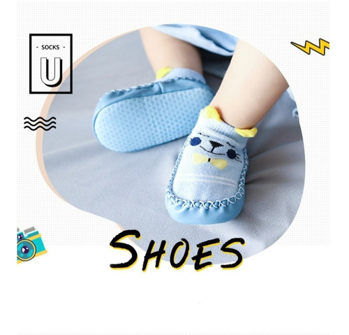 Media Zapato Pare Bebes