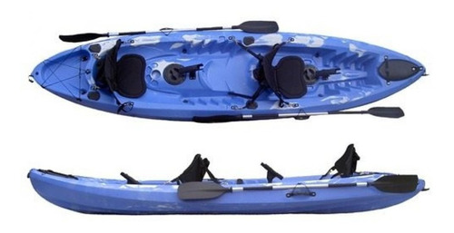 Kayak Kodiak Doble/triple Super Completo