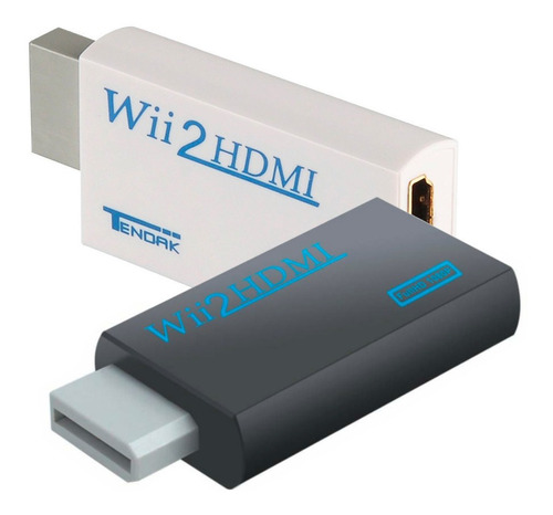 Adaptador Convertidor Wii Hdmi Salida Audio 3.5mm Full Hd