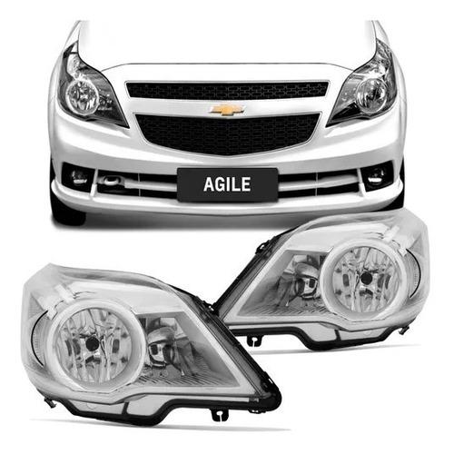 Optica P/ Chevrolet Agile 2009 2010 2011 2012 2013