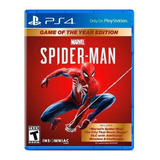 Marvel's Spider-man Game Of The Year Edition Sony Ps4  Físico