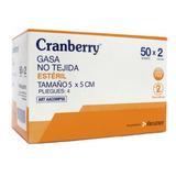 Gasa Esteril 5x5- Caja De 50 Unidades - Zona Medica