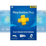 Tarjeta Psn Playstation Plus 3 Meses -  Entrega En Minutos
