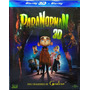 Blu Ray + Blu Ray 3  D Lacrado Paranorman Com Luva Original