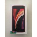 Caja Vacia iPhone SE Red 64 Gb Incluye Manuales