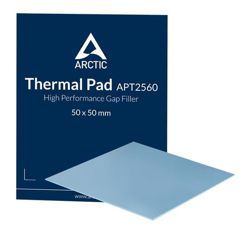 Pad Térmico Arctic De Alto Rendimiento 50 X 50 X 0.5mm