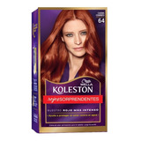 Tintura Wella Koleston Kit Permanen Caoba Cobrizo 64
