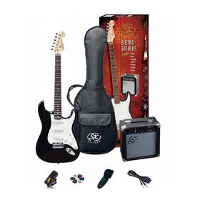 Guitarra Electrica Pack Sx Se1sk Strato 3/4