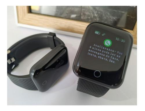 Smartwatch Relógio Inteligente Android E Ios Pronta Entrega