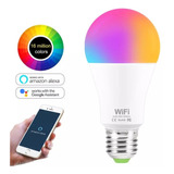Ampolleta Wifi Inteligente Smart Rgb Google Alexa Colores