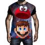 Blusa Moletom Personalizado Jogo Game Nintendo Super Mario 1 Original