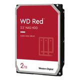 Disco Nas Interno Western Digital Wd Red Wd20efax 2tb Rojo