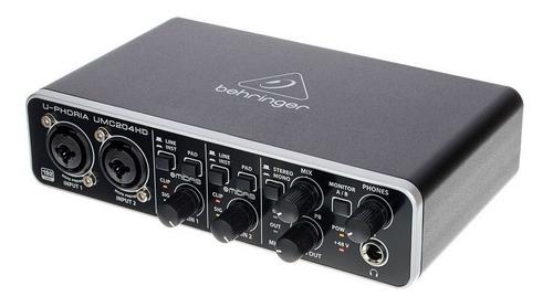 U-phoria Umc204hd Interfaz De Audio - Behringer