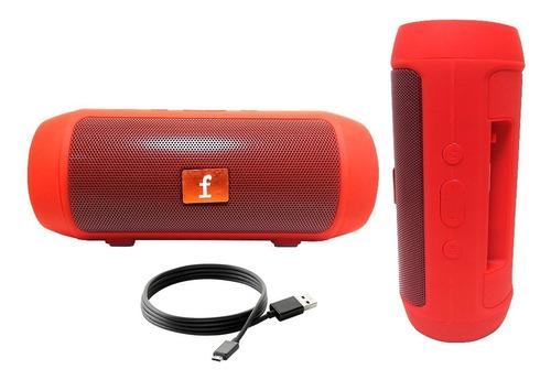 Parlante Portátil Bluetooth  5w Radio Colores Recargable