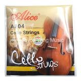Encordado Cello Alice A804 Violonchelo Alta Calidad