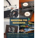 Digitalizacion Traspaso Vhs Minidv 8mm A Pendrive Disco Duro