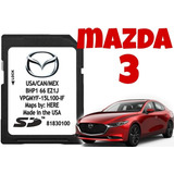 Tarjeta De Navegación Mapas Mazda 3  2014 -2018
