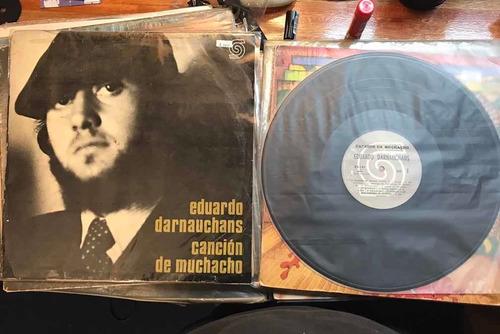 Darnauchans - Canción De Muchacho. 1a Edición. Impecable.