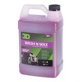 Wash N Wax / Shampoo Con Cera 4 Litros / 3d Detailing