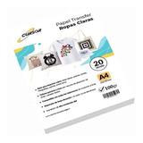 Papel Transfer Telas Claras  20 Hojas A4 Cursor