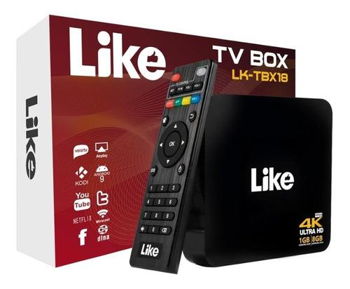Tv Box Android 7.1 4k Wifi 1gb 8gb Convierte Tv A Smart Dimm