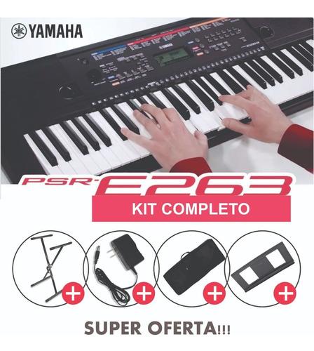 Teclado Órgano Piano Yamaha Psr E263! Oferta!!!