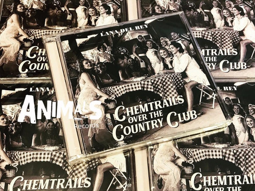 Lana Del Rey Chemtrails Over The Country Club Cd Nuevo