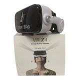 Óculos De Realidade Virtual 3d C/fone Toptag Preto C/branco