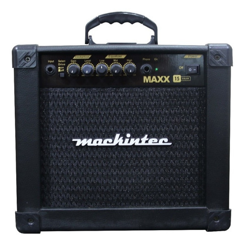 Cubo Amplificador Guitarra Maxx 15 Mackintec Pronta Entrega