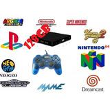 Miniconsola Retro + De 10000 Juegos N64 Naomi Ps1 Dc 128gb