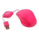 Mouse Mini Noganet  Ngm-418 Rosa