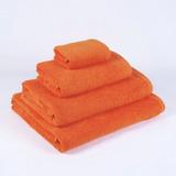 Juego De Toallas Naranja 450 Grs/m2 (baño Y Mano)