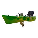 Kayak Pesca Pedalera Timon Y Butaca Kings Kraft  Remo Pedal
