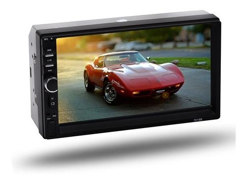 Stereo Auto Doble Din Pantalla Tactil Mirrorlink Camara Rev!