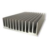 Disipador Aluminio 400w, Led Cob Indoor Grande, 13x40x4.2cm
