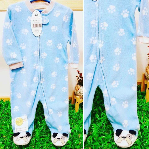 Dormilones, Enteritos,pijamas, Astronautas Micro Polar, Bebé