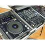 2 Cdj 850k Pioneer Preta + Mixer C/ Cases Original