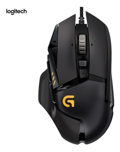 Logitech G502 Adaptive Gaming Mouse Con Cable Rgb Sintonizab