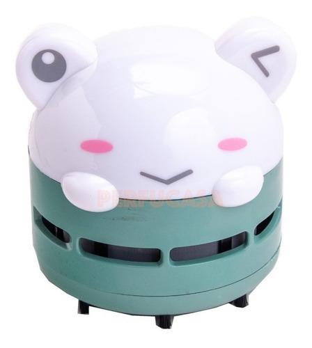 Mini Aspiradora Portable Escritorio Teclado Animalitos