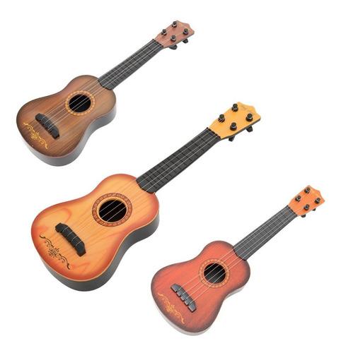 Guitarra Infantil Ukelele Niño 39 Cm Promocion Dia Del Niño