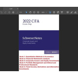 Cfa 2022 Nivel 1 Libros Nuevo Contenido