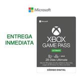 Xbox Game Pass Ultimate 1 Mes (2x14) Código Renovación
