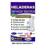 Service Heladera Carga Gas Reparacion Aire Tecnico Whirpool