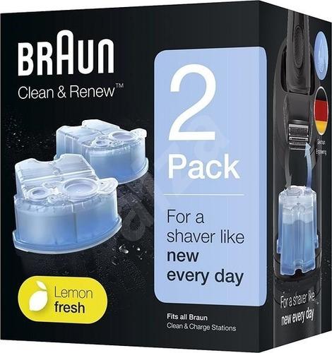 Repuesto Cartuchos De Limpieza Braun Clean & Renew Ccr2