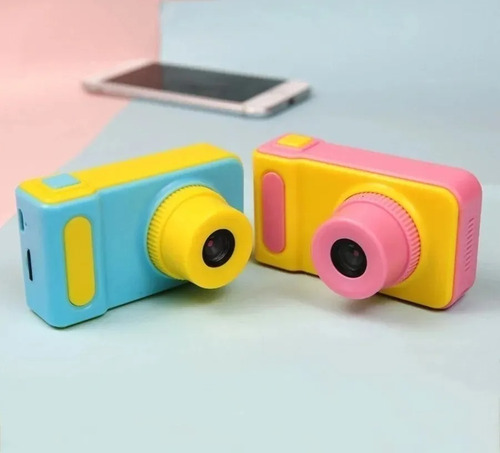 Mini Cámara Fotográfica Digital Para Niños Portatil 64871