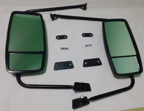Juego X2 Espejos Mercedes Benz 1114 Doble Vision Completo