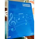 Libro  Cuaderno Pentagramado 50 Hojas